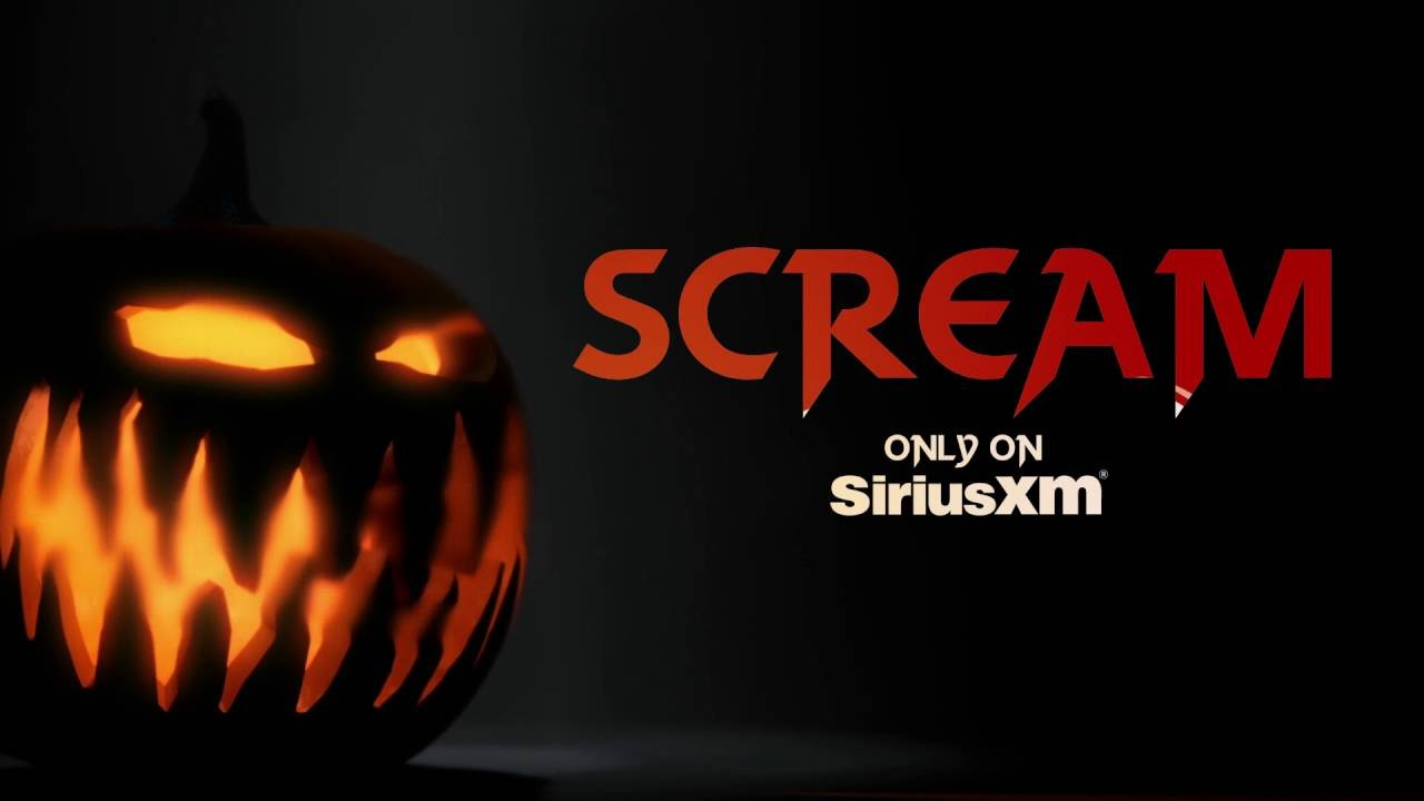scream is your soundtrack for halloween on siriusxm - youtube