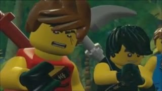 LEGO Ninjago: Shadow of Ronin Walkthrough Part 1 - Chen's Dungeon & Spinjago Chase (3DS / Vita)