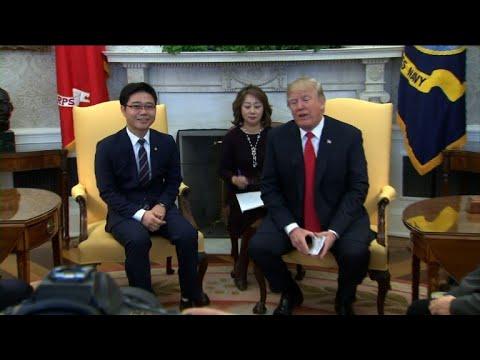 Trump meets North Korean defectors