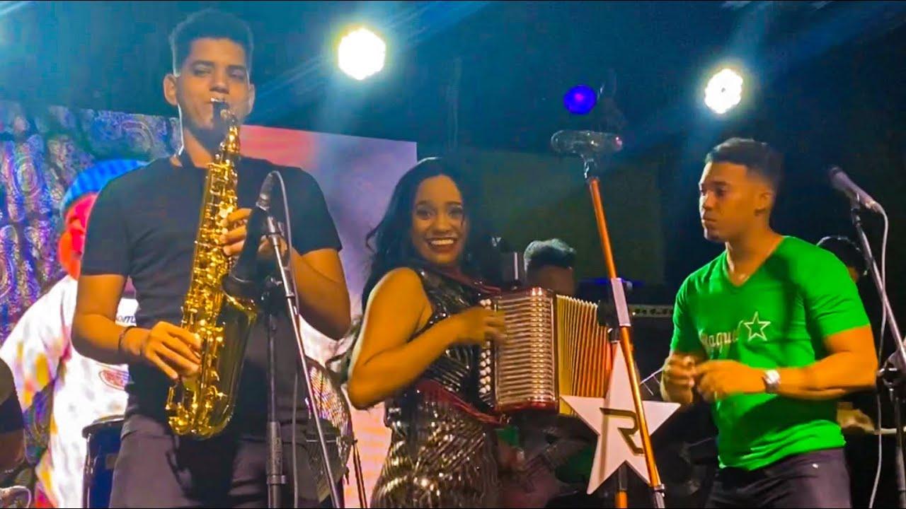 Raquel Arias - La Insuperable (Fiesta privada Jacagua EN VIVO)