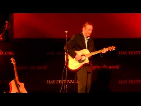 """Golden Brown"" Hugh Cornwell, Hay Festival, Hay on Wye 27/05/13"