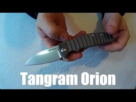 Tangram Orion Knife Review