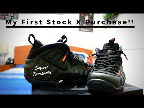 huge discount 57cd8 a44be FOAMPOSITE SEQUOIA GREEN ON FEET REVIEW   First Stock X Purchase!