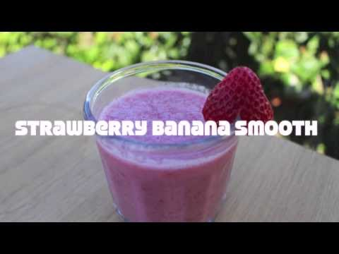 How to Make a Quick and Easy Strawberry Banana Smoothie