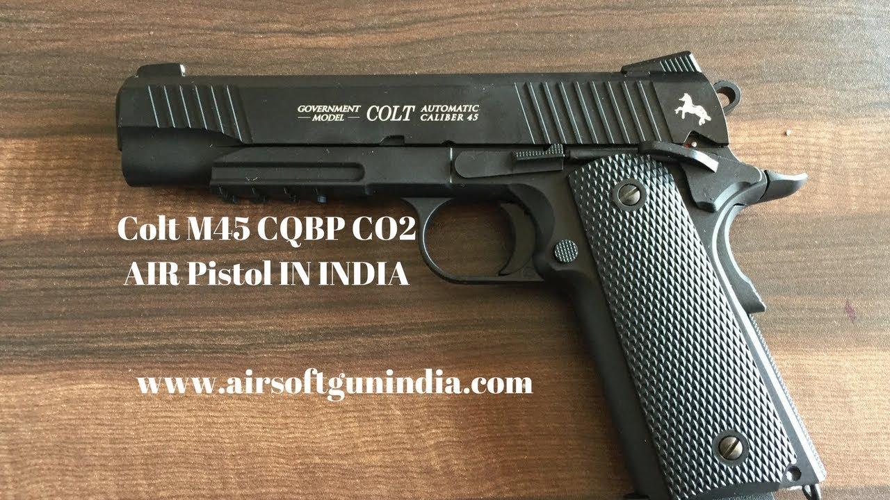 Colt M45 CQBP CO2 AIR Pistol IN INDIA