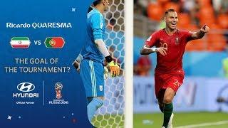 RICARDO QUARESMA Goal - IR Iran v Portugal - MATCH 35