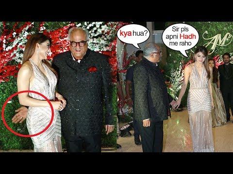 Urvashi Rautela Gets EMBARASSED By Boney Kapoor's SH0CKING Behaviour At Wedding Function