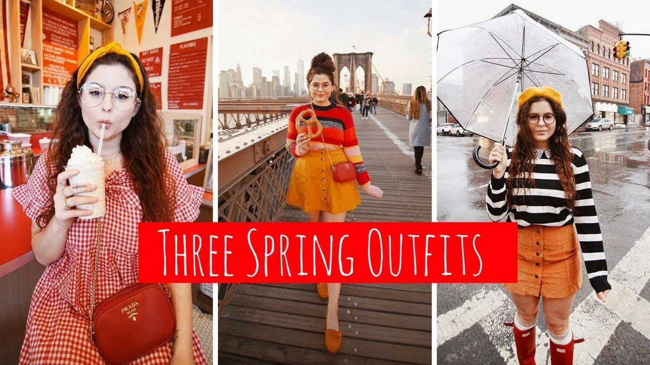 THREE SPRING OUTFITS in NYC! / LOOKBOOK 8