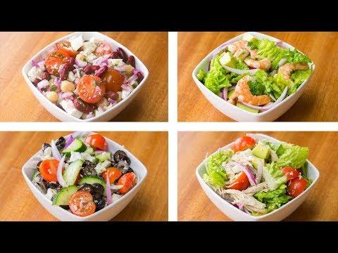 ensaladas saludables y faciles