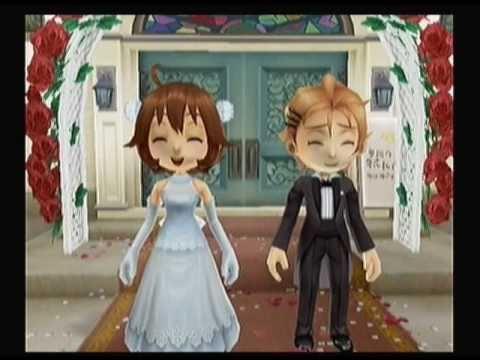 "Harvest Moon: Animal Parade ""Chase - Marriage"" - YouTube"