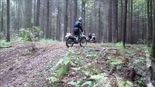 Уроки внедорожной езды в K.R.Moto-3