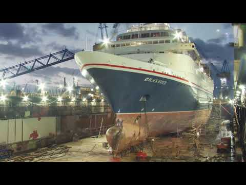 Fred. Olsen's Black Watch transformation - Hamburg shipyard - 2019