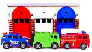 Learn Colors with Yippee Toys and Garage Playset and Toys for Kids