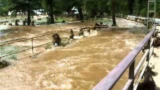 Kirnitzsch-einen Tag nach dem Augusthochwasser 2010