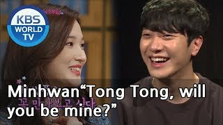 "Minhwan""Tong Tong, will you be mine?""[Happy Together/2019.05.09]"