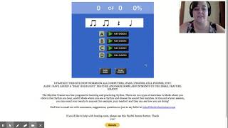 The Rhythm Trainer Software Tutorial screenshot 2