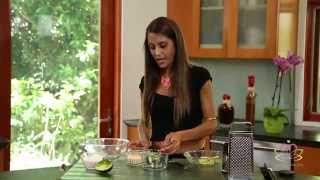 My Healthy Pasta With Stress Reducing Avocado Sauce: Eat Yourself Gorgeous Meal Makeover