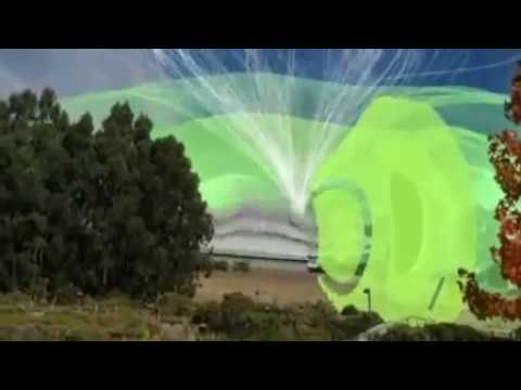 Nice Animation Different Field Emission EMF into Environment - Magnetic Movie