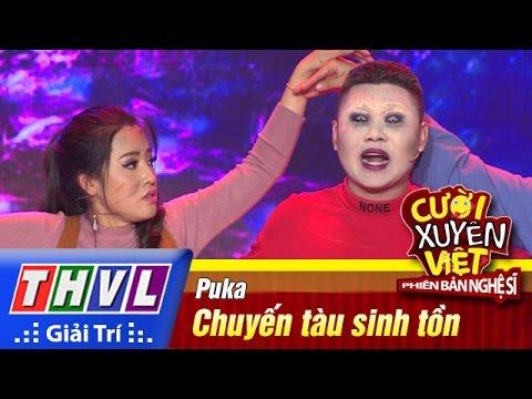 THVL | Cười xuyên Việt – Phiên bản nghệ sĩ 2016 | Tập 7 [2]: Chuyến tàu sinh tồn – Puka