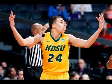 North Dakota State's Tyson Ward Scores 23 Points To Top NC Central In The First Four
