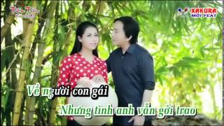 Karaoke [TAN NHAC] Duyên thầm - song ca Xakura