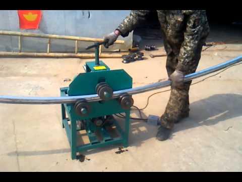 Rolling Pipe Bending Machine Youtube