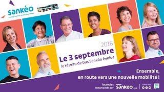 Réseau Sankéo  - Le 3 septembre 2018, le réseau de bus Sankéo évolue !