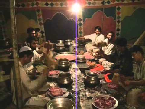 Prepration of wazwaan- Muslim kashmiri weddings tradition