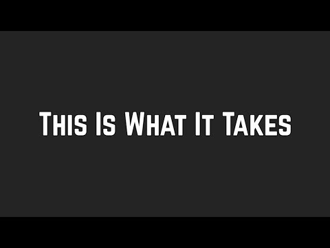 Shawn Mendes - This Is What It Takes (Lyrics)