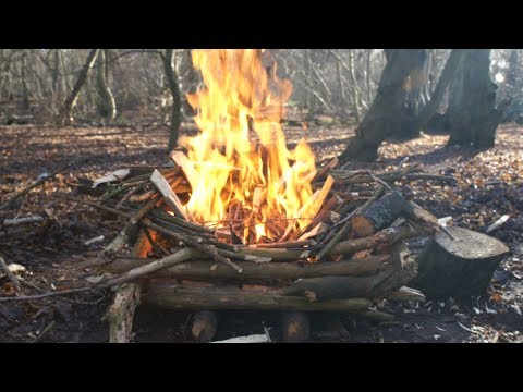 Wet Weather Fire-Making - HowTo