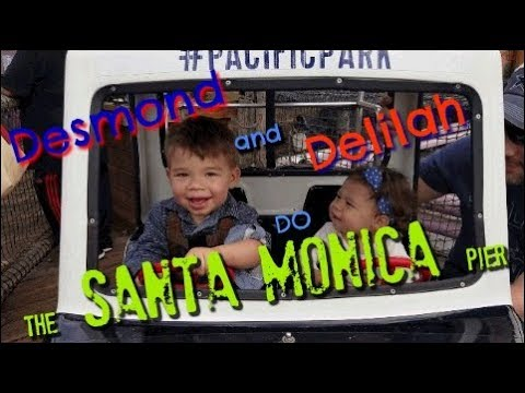 Santa Monica Pier with Desmond & Delilah - Games, rides, and Prices (2018)