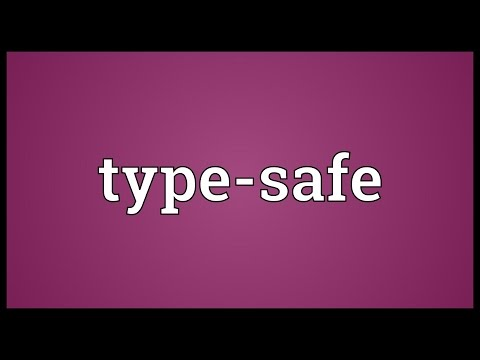 Type-safe Meaning