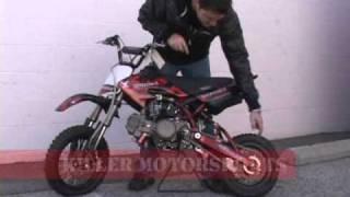 WMX W125 125CC PIT DIRT BIKE WOLF MOTO X