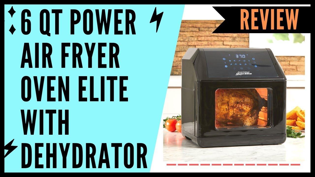 6 QT Power Air Fryer Oven Elite Review | Power Air Fryer 10-In-1 Pro Elite  Oven 6-QT