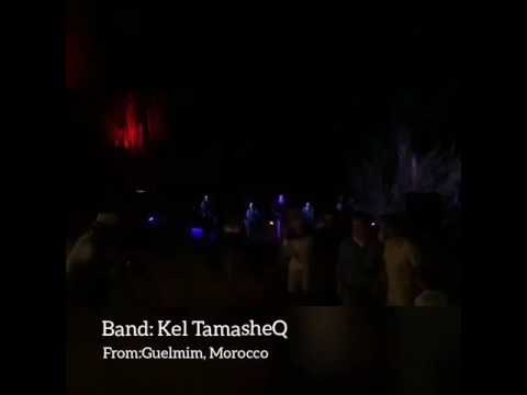Kel TamasheQ, a talented band with an amazing performance