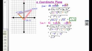MATH C Day 7; Finḋing The Perimeter Using The Distance Formula