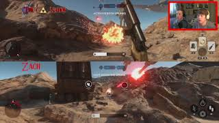 2 Players 1 Winner | Star Wars Battlefront | XBox One Gameplay