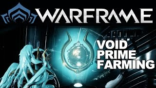 Warframe: How to Farm Void & Prime Parts (SPECTERS OF THE RAIL)