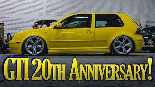 VW Golf GTI 20th Anniversary - Proyecto de Pintura