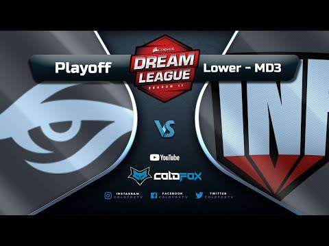 [PT-BR] Team Secret vs  Infamous - DreamLeague 11 - Dota 2 Major