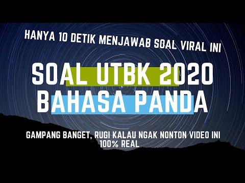 bahasa-panda-utbk-2020---hanya-10-detik-menjawabnya