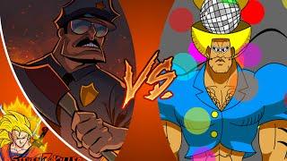 AXE COP vs BOBOBO BO BO BOBO! De dibujos animados de el Club de la Pelea Episodio 94 REACCIÓN!!!