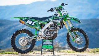 The 2017 Kawasaki KX250F is a great bike right off the showroom flo...