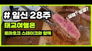 [임신 28주] 태교여행 VLOG / 애견독채펜션 / …