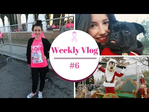 WEEKLY VLOG #2 | GUS, DISNEY & WOMAN'S RACE