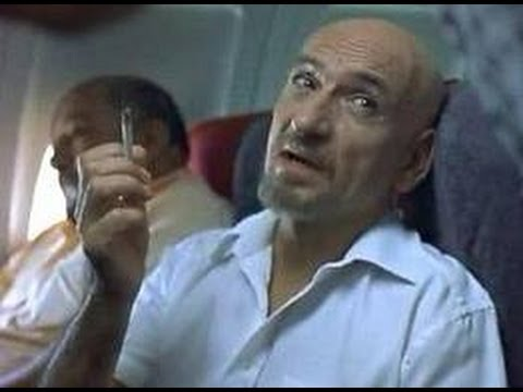 Ben Kingsley in aeroplane  from Sexy Beast as Don Logan