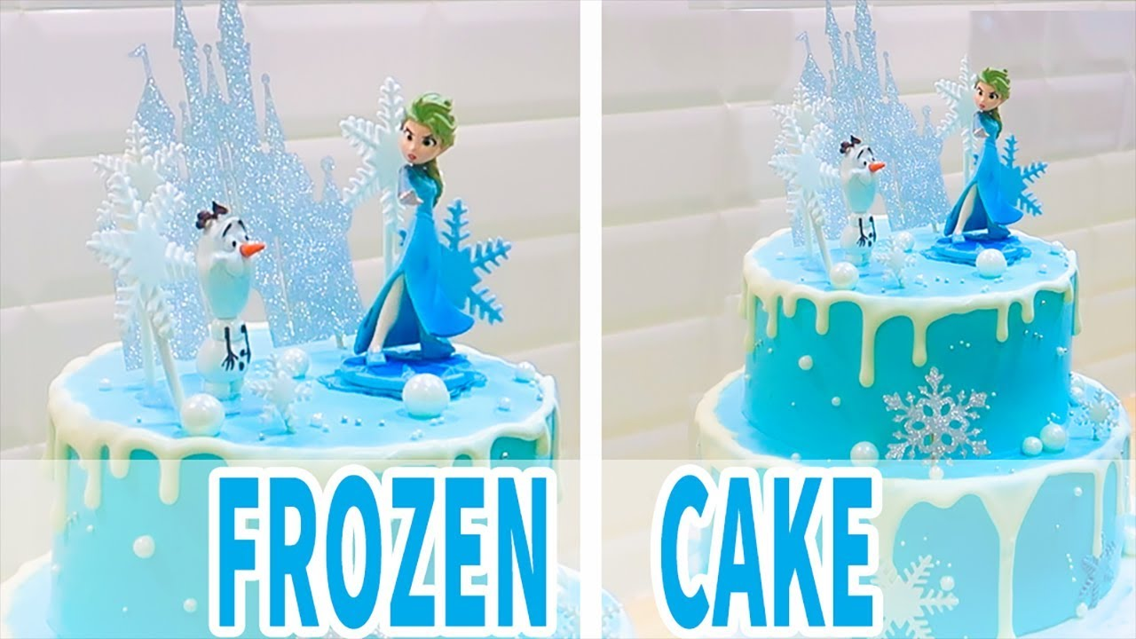 🎂 HOW TO MAKE A DISNEY FROZEN CAKE ELSA | Como rellenar y decorar un pastel de frozen | 冰雪奇緣生日蛋糕