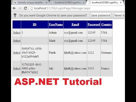 how to create website in mvc