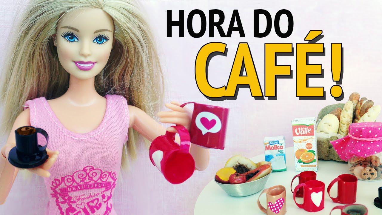 Como Fazer Caneca E Xícara Para Barbie E Outras Bonecas