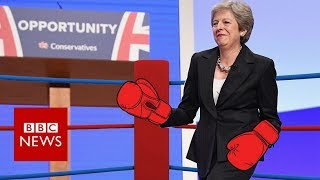 Brexit battles: How Theresa May keeps fighting on - BBC News